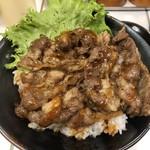 肉のヤマキ商店 - ◎牛焼肉丼598円