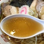 中華そば 金ちゃん - 阿波尾鶏のスープ