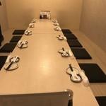 酒菜や MARUICHI - 個室内観