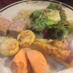 ラ・ストラーダ・ディ・カンパーニャ - antipasto misto 人参のムースが美味しいんですよ〜