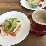 レシピレシピ - バー二ヤカウダ&野菜
