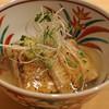 はらまさ - 料理写真:鰻の白焼きと賀茂茄子の餡かけ