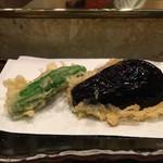 天廣 - 野菜(ししとう、茄子)