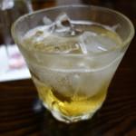 越路 - 梅酒のソーダ割り
