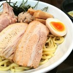 らーめん なが田 - 特製つけ麺 1200円