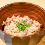 蘭奢待 - 料理写真:ごはん