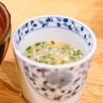 蘭奢待 - スープ