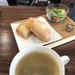 cafe ∞ - スープset 12種野菜のスープver