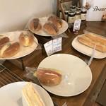 ベーカリー ハチマルニ - ドッグやサンドイッチたち(2018.5.17)