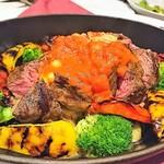 肉の王様 dining speranza - ミスジステーキ
