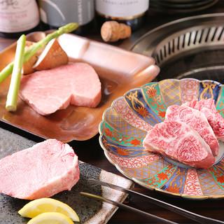 肉屋が誇る選りすぐりのプレミアム和牛『かの仔牛』