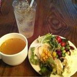 ゼスト キャンティーナ - サラダ(サラダバー)、スープ、ドリンク