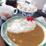 市場食堂 鶴の港 - お子様カレー ¥350