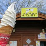 吉光牧場 ミルク通り - ソフトクリーム(300円)