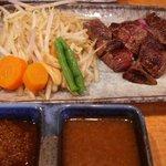 ステーキハウス さとう - 松坂牛サイコロステーキ(2100円)