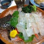 Izakayakappoutamura - ヒラメの活魚