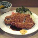 とんき - ロースカツ定食