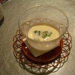 ねもと - 2000円コース 冷製コーンスープ
