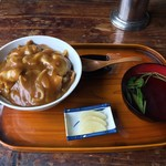 桜家 - 料理写真:和風カレー丼