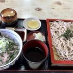まるや - 料理写真:ミニネギトロ丼セット 900円