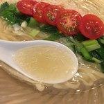 饗 くろ喜 - 毛蟹甲羅と羅臼昆布のスープ