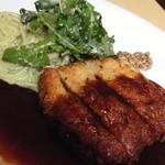 RESTAURANT Mille-Feuille - 雲仙豚フィレ肉のミラノ風カツレツ@1,100