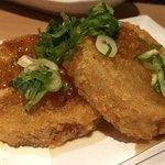 個室 北国の匠 北海道 魚均 - おでん大根の唐揚げ(これはアリでした)