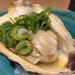 個室 北国の匠 北海道 魚均 - 牡蠣の浜焼き