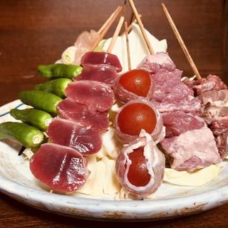 食材は新鮮な食材のみ使用しています。
