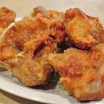 惣菜ばる おためし屋 - 唐揚定食