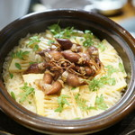 魚魯こ - 蛍烏賊の炊き込みご飯