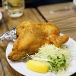 せきとり - 料理写真:半身唐揚げカレー味 時価