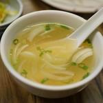 せきとり - このスープでラーメン食べたい