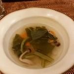 米花 - ランチ 根菜のスープ