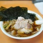 青島食堂 - チャーシュー・メンマ・のり