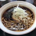 麺処 くろ川 - らー麺黒