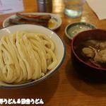 元祖武蔵野うどん めんこや - 肉汁うどん+小江戸キンピラ