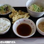 たぬき - 料理写真:日替わりセット