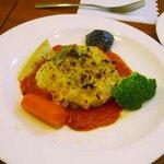 8602616 - 白身魚トマトソースオーブン焼き