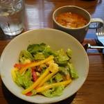 86023068 - サラダとスープ
