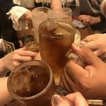 ギョィィィィィィン - ヒロ君帰ったの(;ω;)残り6人で乾杯