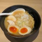 86026763 - 濃厚鶏そば(醤油)味玉トッピング