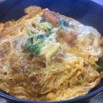 飯山食堂 - 料理写真:カツ重650