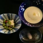 86029460 - 作付  おぼろ豆腐と汲み上げ湯葉
