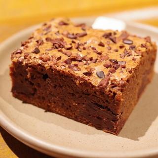 ダンデライオン・チョコレート ファクトリー&カフェ蔵前 - 料理写真:チョコレートブラウニー