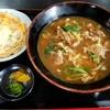 麺正 - 料理写真:肉カレーうどん親子丼セット
