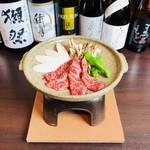 博多 心風 - 馬肉の陶板焼