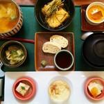 ゆば泉 - 湯葉定食
