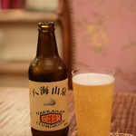 東白庵かりべ - 八海山地ビール(ヴァンツェン)@税込800円