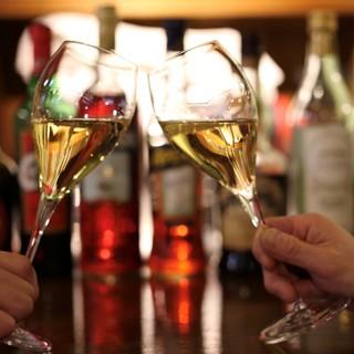 イタリアワインを中心に多数取り揃えております。